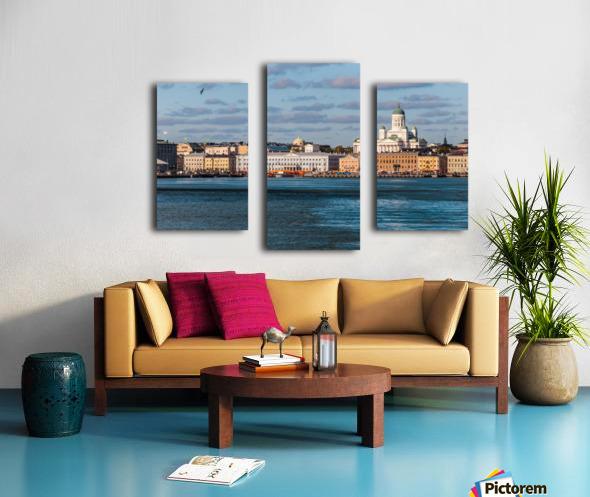 HELSINKI 01 Canvas print