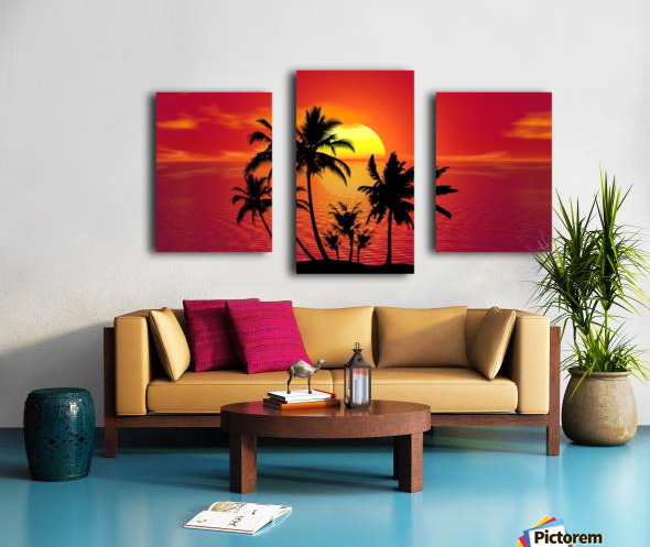 tropical 1651423 Canvas print