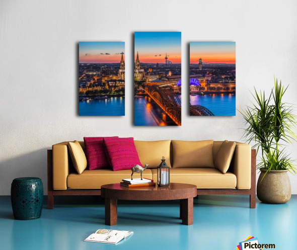 COLOGNE 03 Canvas print