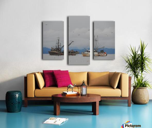Herring Season Canvas print
