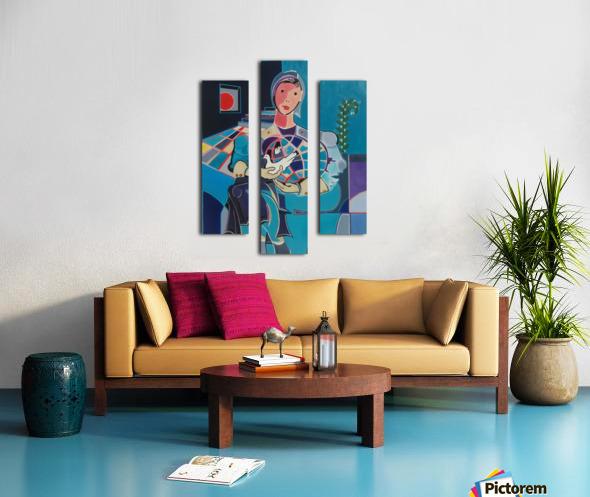 Sentinelle de la Paix Canvas print