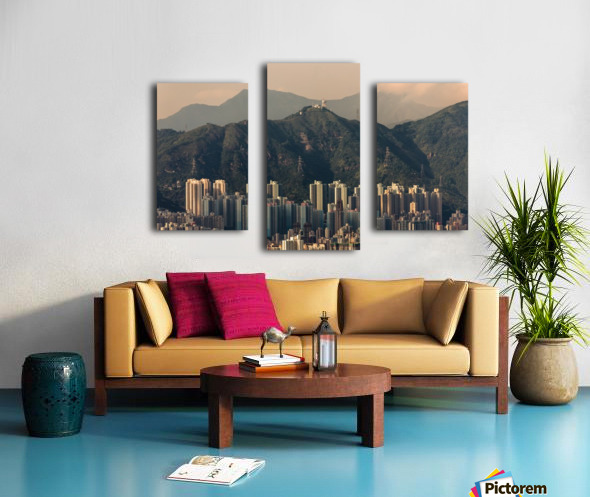 HONG KONG 06 Canvas print