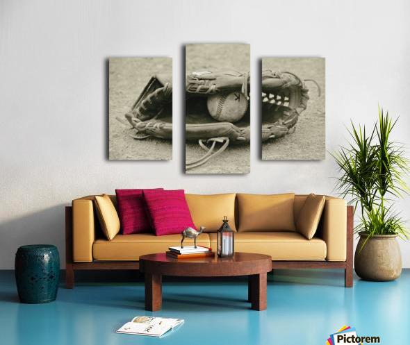 First Love 3 in Sepia Impression sur toile