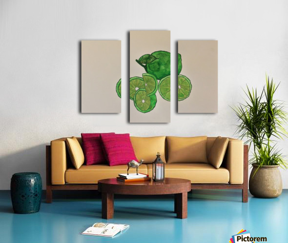 Lime in Szn  Canvas print