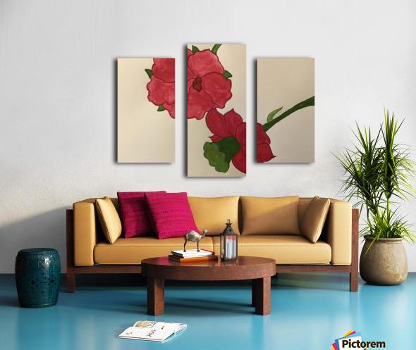 A Floral Dream Canvas print