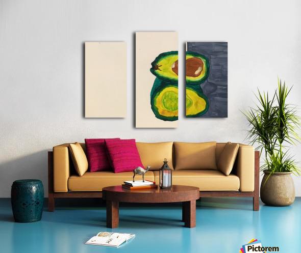 Ripe Avocados Canvas print