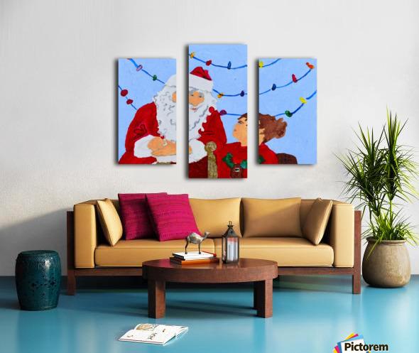 Christmas Eve. David K Canvas print