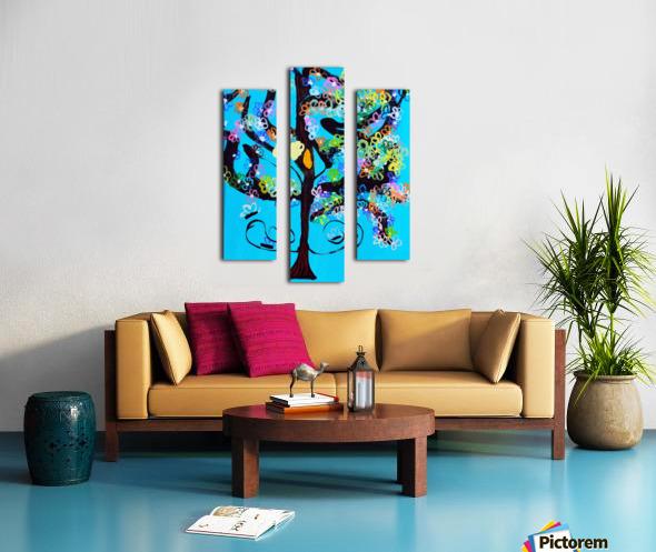 Free Spirit Tree. Molly H Canvas print
