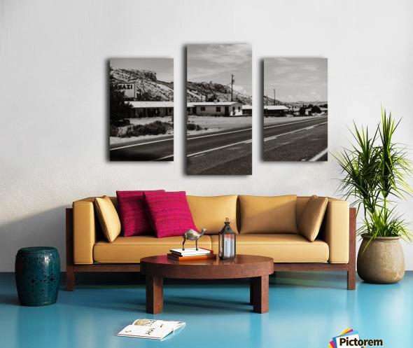 Old Motel Impression sur toile