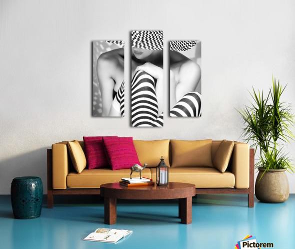 Zagging that Zig Canvas print
