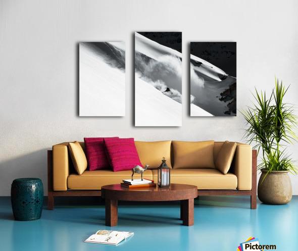 Cloud of Snow Canvas print