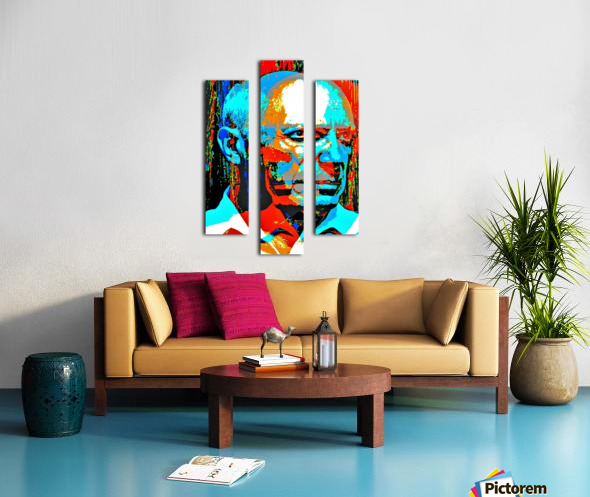 Pablo Picasso - by Neil Gairn Adams Canvas print