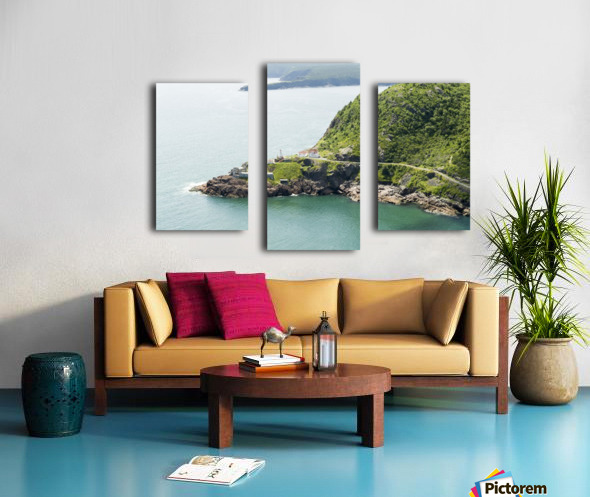 Johns Harbour from Signal Hill 2 Canvas print