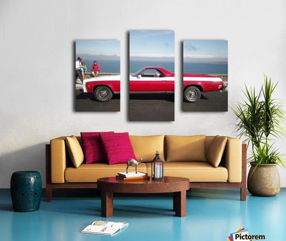 GMC Sprint Utility Pickup coupe combo Canvas print