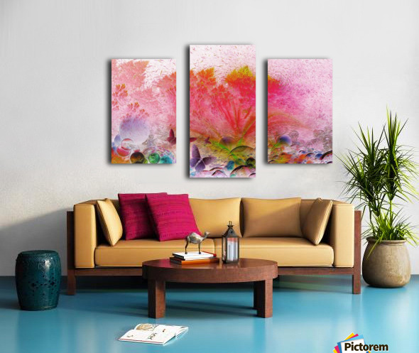 soft wind 6 Canvas print