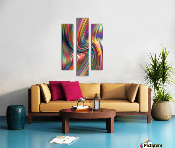 Unknown XIX Canvas print