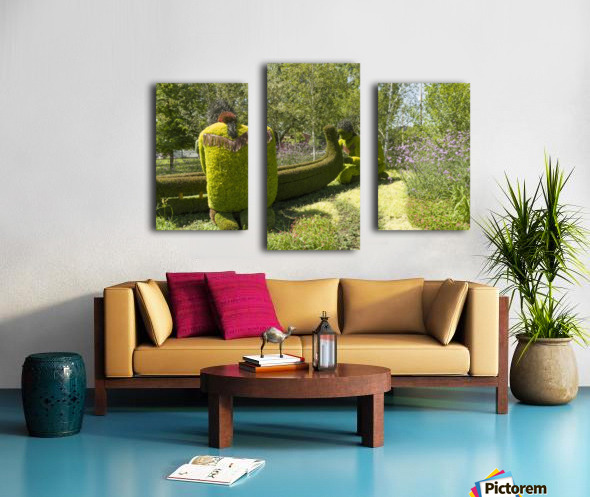 A Journey through the imaginary of the First Nations 4 Canvas print
