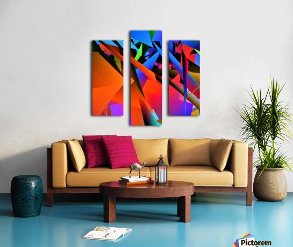 Dimensions -  bY Neil Gairn Adams  Canvas print