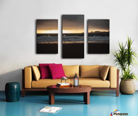 San Francisco Sunset Impression sur toile