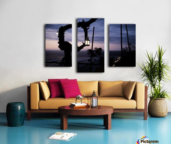 Lanterne de Lima Canvas print