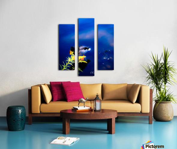 So simple Blue  Impression sur toile
