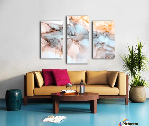 Desert Bluff Canvas print