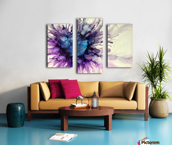 Purple Majesty Canvas print
