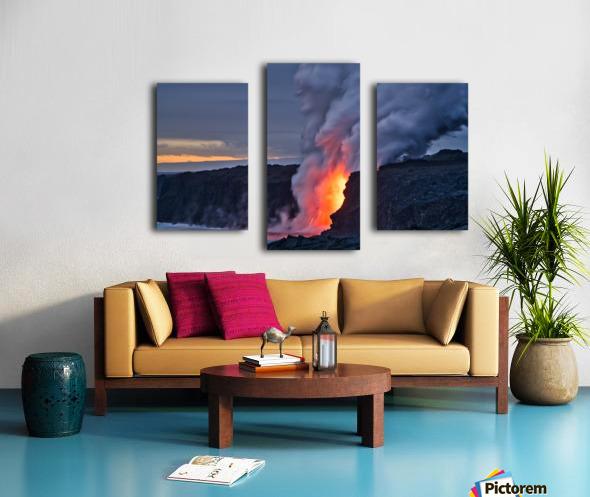 Lava hose Canvas print