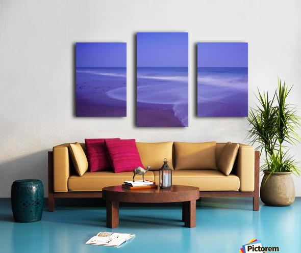 C 636 Ballybrannigan Beach Canvas print