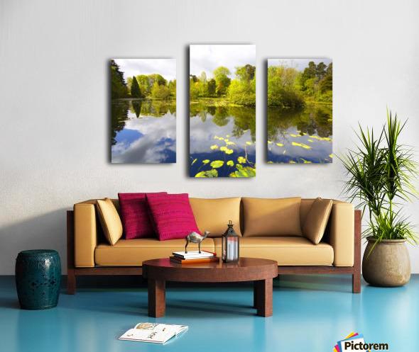 CW 029 Altamont Garden, Co.Carlow Canvas print