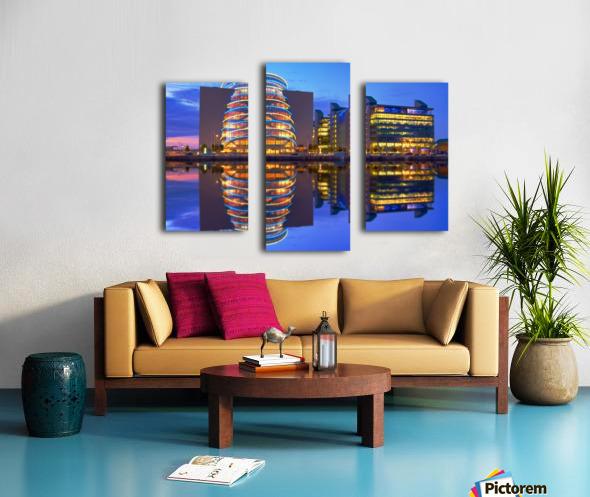 D 249 Convention Centre Canvas print