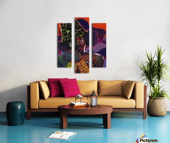 3000 AND BEYOND Canvas print