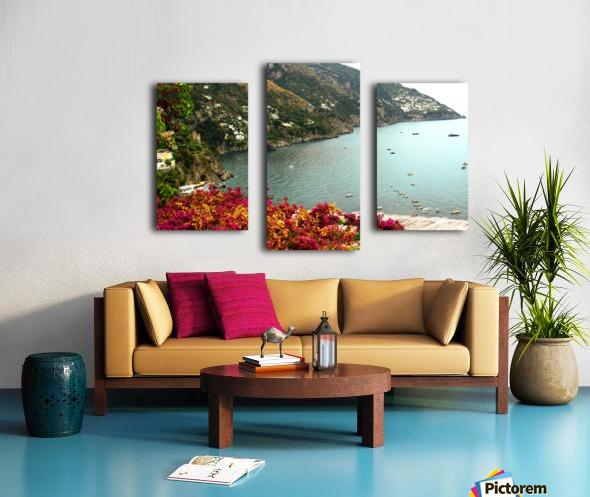 Amalfi Coast landscape  Canvas print
