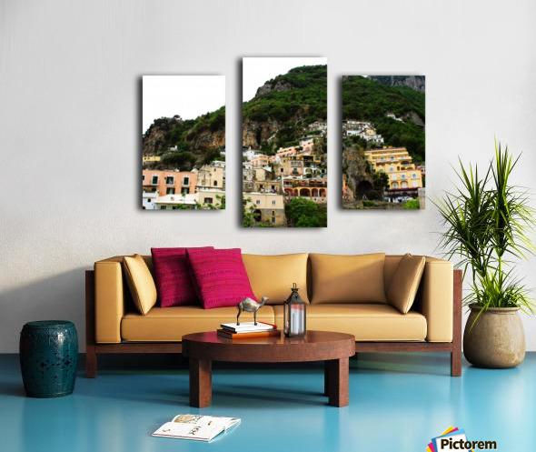 Landscape - Beautiful Village - Italy Canvas print
