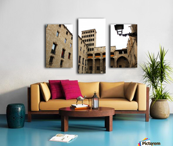 Gothic Quarter - Catalunya - Spain Landmark Canvas print
