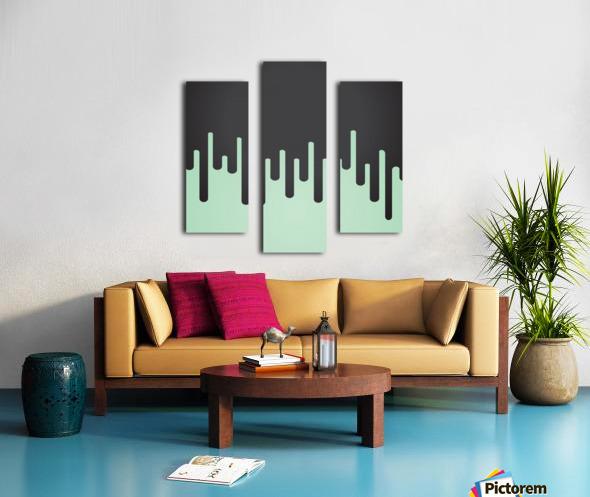 Pista Melting Tone Canvas print