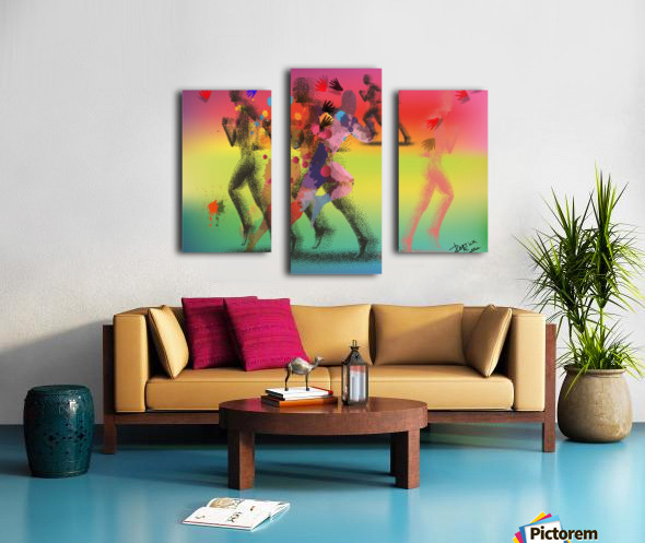 Run of mind  Canvas print
