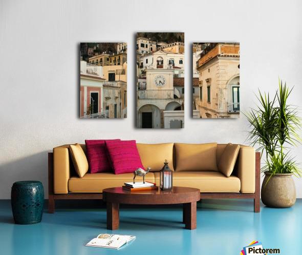 Church Clock - Italy  Impression sur toile