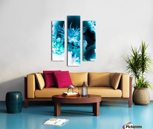 Bleu Bird Ingnite  Impression sur toile