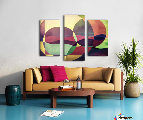 Middle Ground Canvas print