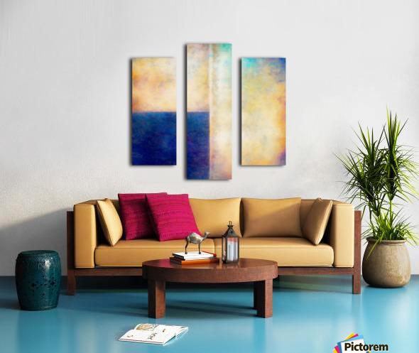 Blue Zone Canvas print