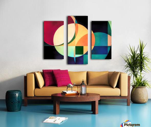 Composition Planétaire Canvas print