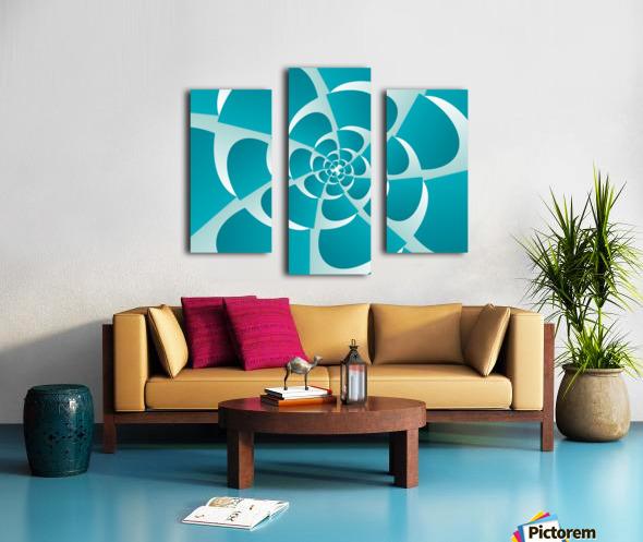 Blue Grill Canvas print