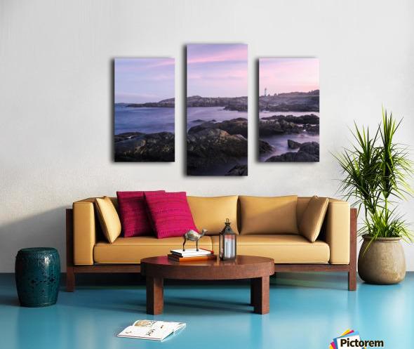Beacons of lights Canvas print