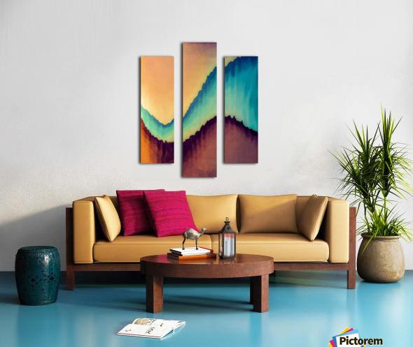 Proboscidean Dreamscape Canvas print