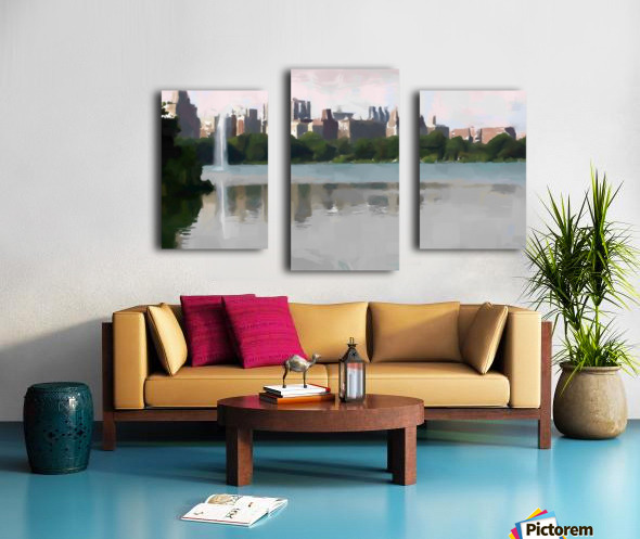 NY_CENTRAL PARK_View 061 Canvas print