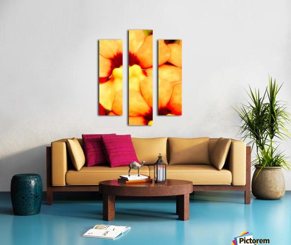 Yellow Mello Impression sur toile