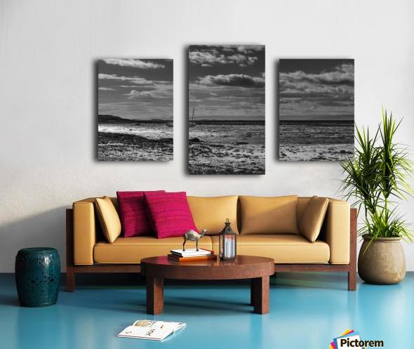 Autumn loneliness Canvas print