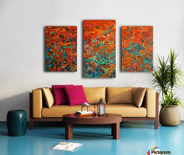 Ettorre Baïkal Canvas print