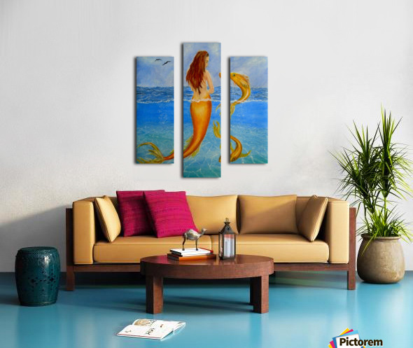 The Sea Nymph Canvas print